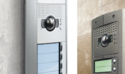 Access control of an apartment building with door entry systems